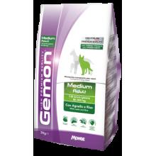 Gemon Medium Adult Lamb and Rice сухой корм для собак средних пород с ягненоком и рисом 3 кг (15 кг)