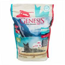 Genesis Pure Canada My Blue Lake Hair Skin сухой корм для взрослых кошек, для улучшения кожи и шерсти с лососем, форелью и курицей - 2,268 кг