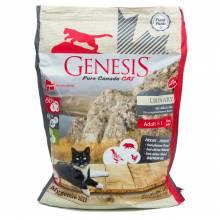 Genesis Pure Canada My Gentle Hill Urinary сухой корм для взрослых кошек, склонных к проблемам мочеполовой системы с кабаном, фазаном и курицей - 2,268 кг