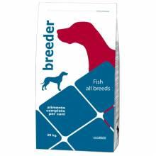 Golosi Fish All Breeds сухой корм для взрослых собак всех пород с рыбой и рисом 20 кг
