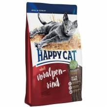 Happy Cat Fit & Well Adult Rind - сухой корм для взрослых кошек с альпийской говядиной 1,4 кг (4 кг) (10 кг)