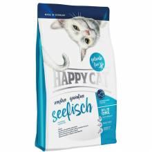 Happy Cat La Cuisine сухой корм для кошек с морской рыбой 1,4 кг (4 кг)