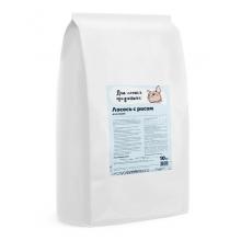 Для самых преданных™ корм для кошек Лосось с рисом 10 кг