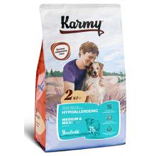 Karmy Medium & Maxi  Hypoallergrnic полнорационный сухой корм для собак средних и крупных пород в возрасте старше 1 года, склонных к пищевой аллергии. 2 кг (15 кг)