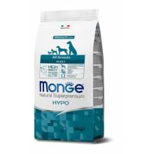 Monge Hypoallergennic All Breeds Salmon and Tuna гипоаллергенный сухой корм для собак всех пород с лососью и тунцом - 2,5 кг (12 кг) (15 кг)