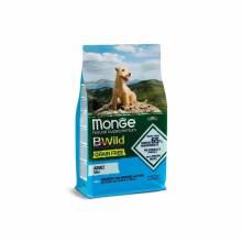 Monge Dog BWild Grain Free Mini сухой беззерновой корм для взрослых собак мелких пород из анчоуса с картофелем и горохом - 2,5 кг