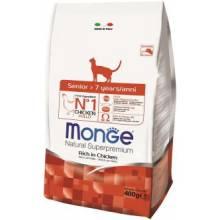 Monge Senior для пожилых кошек старше 7 лет 400 гр