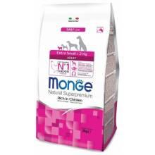 Monge Dog Extra Small сухой корм для взрослых собак миниатюрных пород с курицей 3 кг