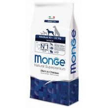 Monge Dog Medium сухой корм для пожилых собак средних пород 3 кг (12 кг)