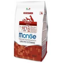 Monge Adult All Breeds Lamb, Rice & Potato сухой корм для собак всех пород (ягненок, рис и картофель) - 2,5 кг (12 кг) (15 кг)