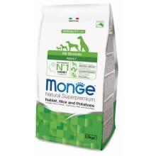 Monge Dog Speciality сухой корм для собак всех пород кролик с рисом и картофелем 2,5 кг (12 кг)