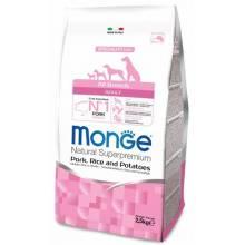 Monge Dog Speciality сухой корм для собак всех пород свинина с рисом и картофелем 2,5 кг (12 кг)