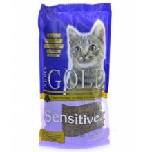 Nero Gold Adult Cat Sensitive Lamb сухой корм супер премиум класса для взрослых кошек с чувствительным пищеварением на ягненке - 2,5 кг (18 кг)
