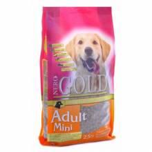 Nero Gold Adult Dog Mini сухой корм супер премиум класса для взрослых собак малых пород - 2,5 кг (18 кг)
