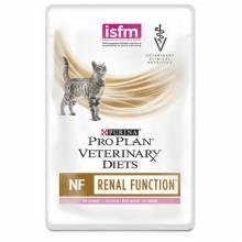 Влажный корм Purina Pro Plan Veterinary Diets NF Renal Function для взрослых кошек при заболеваниях почек с лососем - 85 г х 10 шт