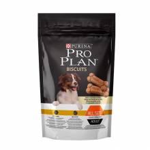 Purina Pro Plan Bisquits Light Sterilised лакомство для взрослых собак всех пород с избыточным весом или стерилизованных с курицей и рисом - 400 г