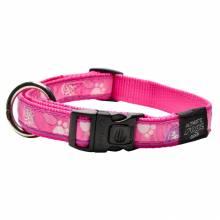 Ошейник для собак ROGZ Fancy Dress L-20мм (Розовый)