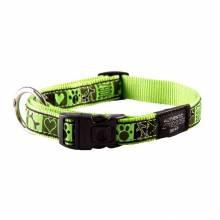 Ошейник для собак ROGZ Fancy Dress L-20мм (Зеленый)