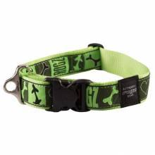 Ошейник для собак ROGZ Fancy Dress XXL-40мм (Зеленый)