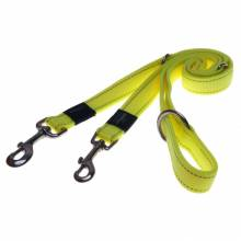 Поводок перестежка для собак ROGZ Utility S-11мм 2 м (Желтый)
