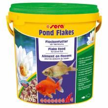 Sera Pond Flakes Корм для прудовых рыб - 180 г (600 г) (1,7 кг)