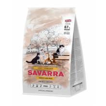 Savarra Light Cat Сухой корм для взрослых кошек с избыточным весом и стерилизованных с индейкой и рисом 400 гр (2 кг) (18 кг)