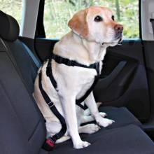 Автомобильный ремень безопасности Trixie со шлейкой для собак с обхватом туловища 80-110 см