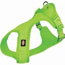 Шлейка Trixie Soft шлейка для собак XXS–XS 25–35 см/15 мм зеленая