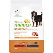 Trainer Natural Sensitive сухой корм для взрослых собак средних и крупных пород без глютена с уткой - 3 кг