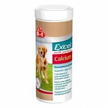 8 in1 Excel Calcium добавка для щенков и взрослых собак, содержащая кальций и фосфор - 470 таб.