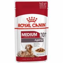 Royal Canin Medium Ageing 10+ влажный корм для пожилых собак средних пород - 140 г х 10 шт