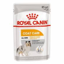 Влажный корм Royal Canin Coat Beauty для собак с тусклой и сухой шерстью - 85 г х 12 шт