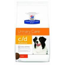 Hill's Prescription Diet c/d MulticareUrinary Care - корм для профилактики МКБ и струвитов для собак 2 кг (12 кг)