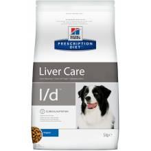 Hill's Prescription Diet l/d Liver Care - лечебный корм для собак при заболевании печени 2 кг (5 кг) (12 кг)