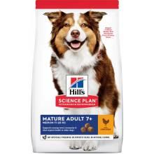 Hill's Science Plan Active Longevity корм для собак средних пород старше 7 лет с курицей 12 кг