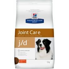 Hill's Prescription Diet j/d Joint Care - корм для взрослых собак способствует поддержанию здоровья и подвижности суставов 2 кг (12 кг)