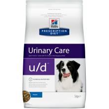 Hill's Prescription Diet U/D Non-Struvite Urinary Tract Health сухой корм для лечения МКБ и заболеваний почек для собак 5 кг