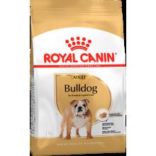 Royal Canin Bulldog Adult сухой корм с птицей и свининой для взрослых собак породы английский бульдог старше 12 месяцев - 3 кг (12 кг)