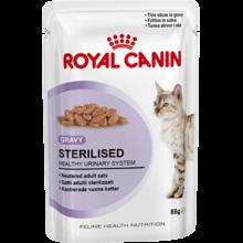 Royal Canin Sterilised паучи для стерилизованных кошек (в соусе) 24 шт х 85 гр