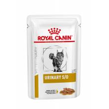 Royal Canin Urinary S/O кусочки в соусе для взрослых кошек при МКБ с курицей 100гр х 12 шт.