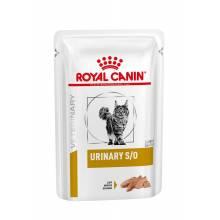 Royal Canin Urinary S/O паштет для взрослых кошек при МКБ с курицейм - 85 г х 12 шт.