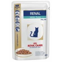 Royal Canin Renal feline with Tuna pauch Диета для кошек при почечной недостаточности с тунцом - 0.85 гр х 12 шт.
