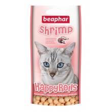 Beaphar Лакомство для кошек шарики с креветками 80 шт