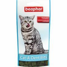 Подушечки Beaphar Cat-A-Dent-Bits для кошек для чистки зубов - 35 г