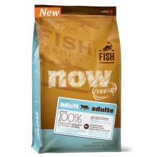 NOW! Fresh Grain Free Fish Adult Recipe CF беззерновой корм с форелью и лососем для взрослых кошек с чувствительным пищеварением 1,82 кг (3,63 кг) (7,26 кг)