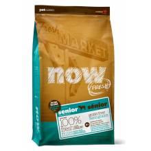 NOW Fresh Large Breed Grain Free сухой беззерновой корм для пожилых собак крупных пород и собак, склонных к избыточному весу, с индейкой, уткой и овощами 5,45 кг (11,35 кг)