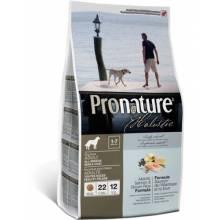 Pronature Holistic Adult All Breed — Atlantic Salmon & Brown Rice  сухой корм для собак атлантический лосось и коричневый рис 13,6 кг