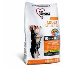 1st Choice Adult сухой корм для взрослых собак миниатюрных и мелких пород с курицей - 1 кг (2,72 кг) (7 кг)