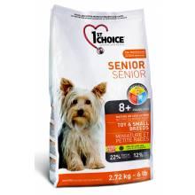 1st Choice Senior сухой корм для пожилых собак миниатюрных и мелких пород с курицей 2,72 кг