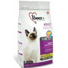 1st Choice Finicky сухой корм для привиредливых взрослых кошек с цыпленком - 0,35 кг (2.72 кг) (5,44 кг)